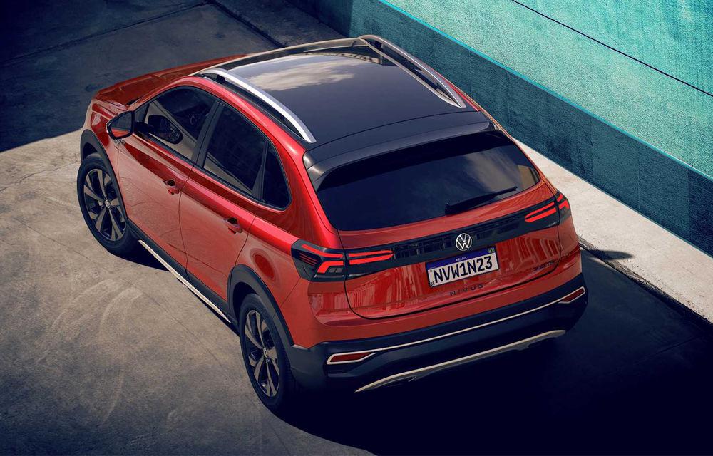 Primele imagini cu Volkswagen Nivus: SUV-ul coupe debutează în Brazilia înainte de a ajunge în Europa - Poza 5