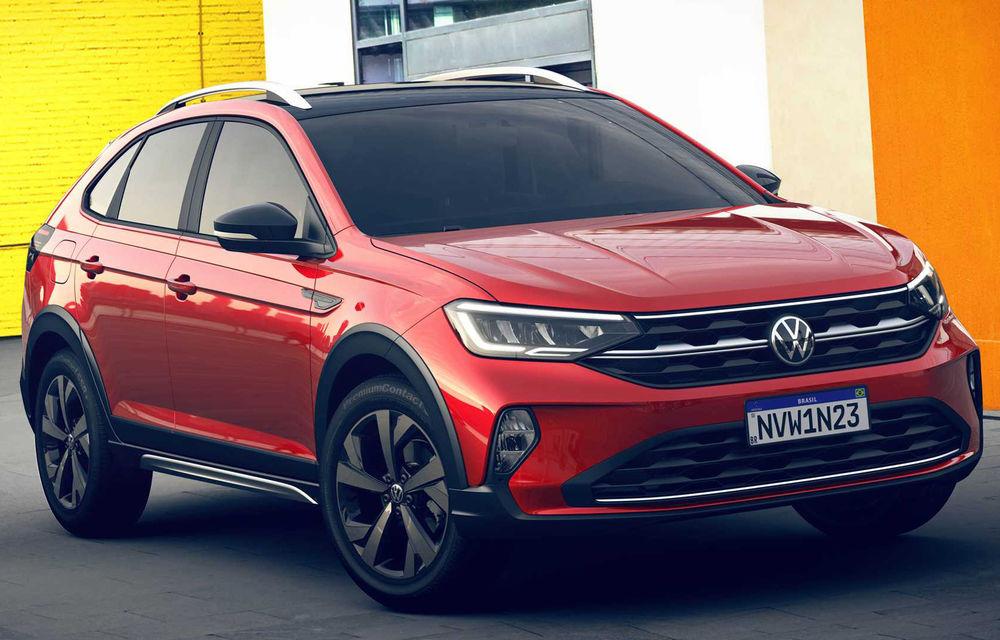 Primele imagini cu Volkswagen Nivus: SUV-ul coupe debutează în Brazilia înainte de a ajunge în Europa - Poza 3