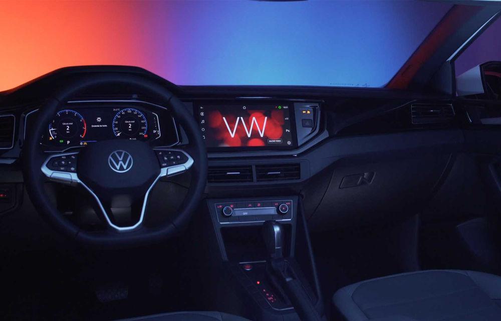 Primele imagini cu Volkswagen Nivus: SUV-ul coupe debutează în Brazilia înainte de a ajunge în Europa - Poza 25