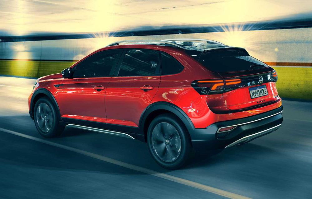 Primele imagini cu Volkswagen Nivus: SUV-ul coupe debutează în Brazilia înainte de a ajunge în Europa - Poza 4