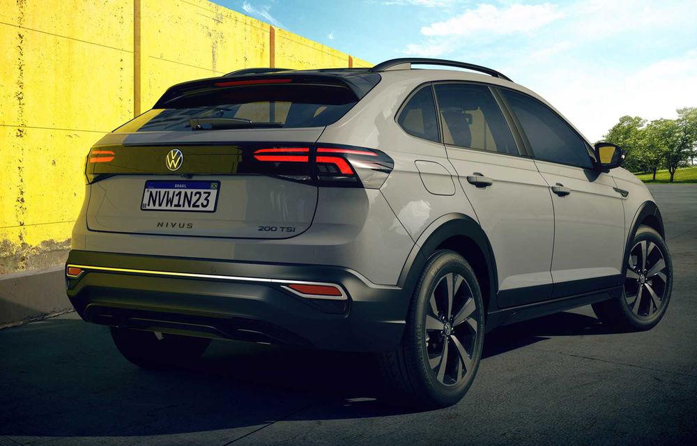 Primele imagini cu Volkswagen Nivus: SUV-ul coupe debutează în Brazilia înainte de a ajunge în Europa - Poza 7