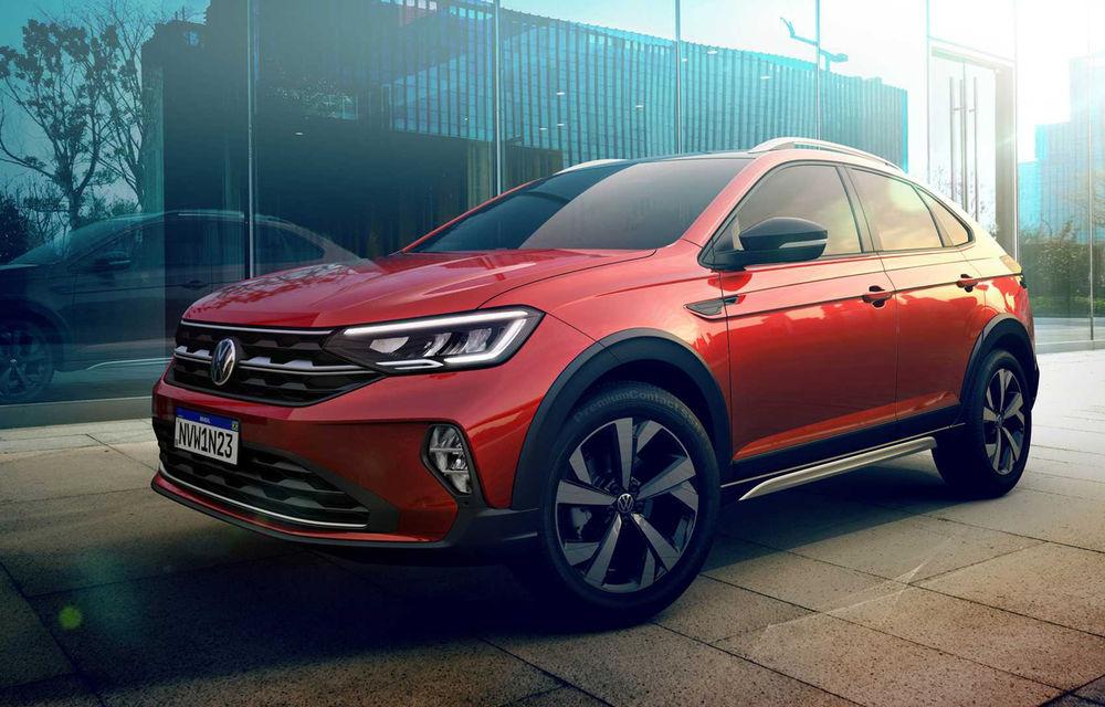 Primele imagini cu Volkswagen Nivus: SUV-ul coupe debutează în Brazilia înainte de a ajunge în Europa - Poza 13