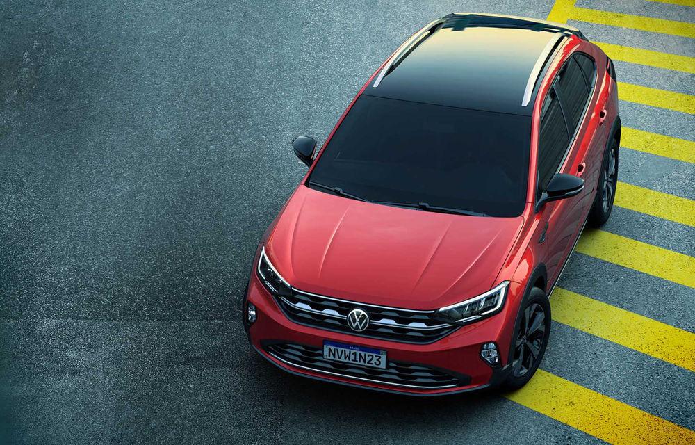 Primele imagini cu Volkswagen Nivus: SUV-ul coupe debutează în Brazilia înainte de a ajunge în Europa - Poza 17