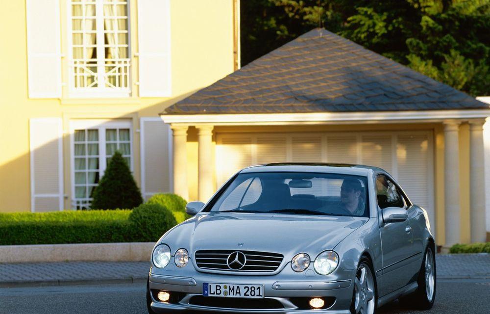 Aniversare în familia Mercedes-Benz: 20 de ani de la debutul versiunii CL 55 AMG F1 Limited Edition - Poza 2