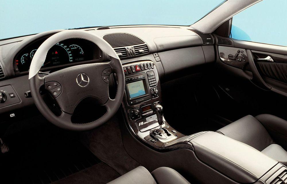 Aniversare în familia Mercedes-Benz: 20 de ani de la debutul versiunii CL 55 AMG F1 Limited Edition - Poza 7