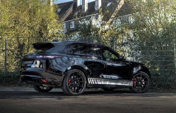 Pachet de performanță pentru Range Rover Velar: 600 de cai putere din partea Manhart pentru SUV-ul britanic - Poza 4
