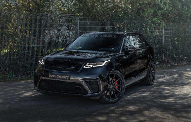 Pachet de performanță pentru Range Rover Velar: 600 de cai putere din partea Manhart pentru SUV-ul britanic - Poza 2