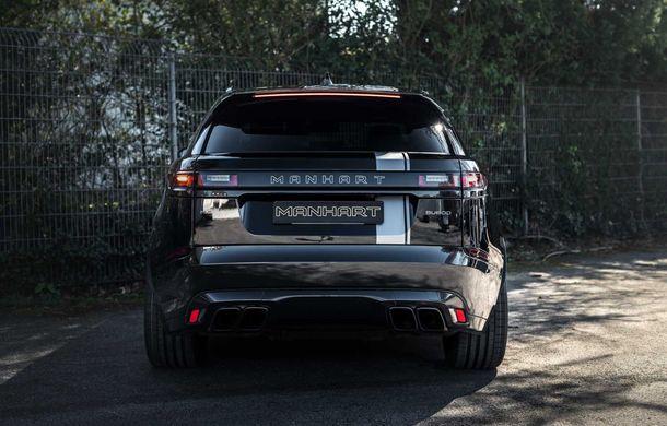 Pachet de performanță pentru Range Rover Velar: 600 de cai putere din partea Manhart pentru SUV-ul britanic - Poza 5