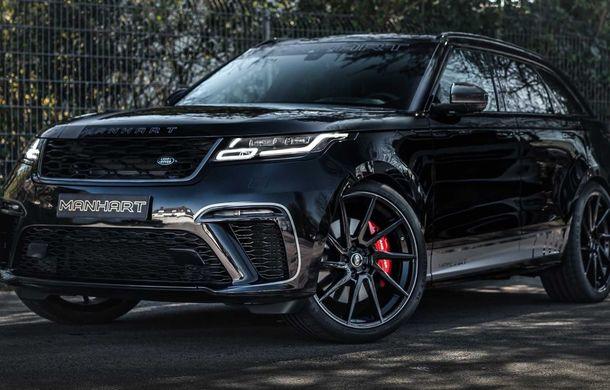 Pachet de performanță pentru Range Rover Velar: 600 de cai putere din partea Manhart pentru SUV-ul britanic - Poza 3