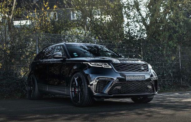 Pachet de performanță pentru Range Rover Velar: 600 de cai putere din partea Manhart pentru SUV-ul britanic - Poza 1