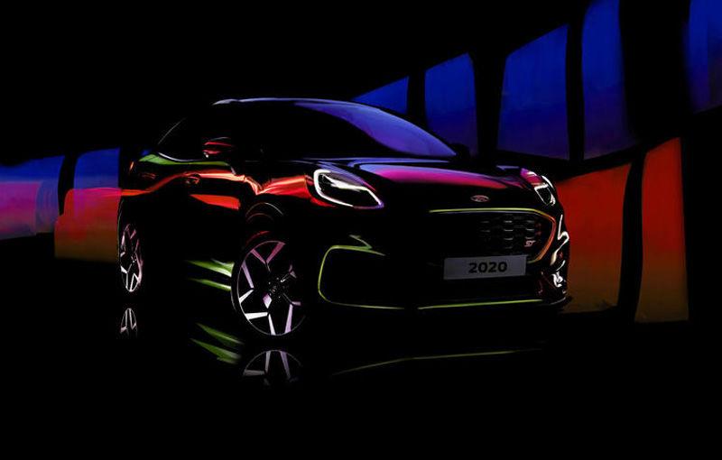 Video. Prototipurile viitorului Ford Puma ST, surprinse pe Nurburgring: versiunea de performanță a SUV-ului produs la Craiova debutează în acest an - Poza 1