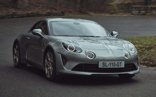 Presa britanică: Alpine va deveni un brand 100% electric al grupului Renault