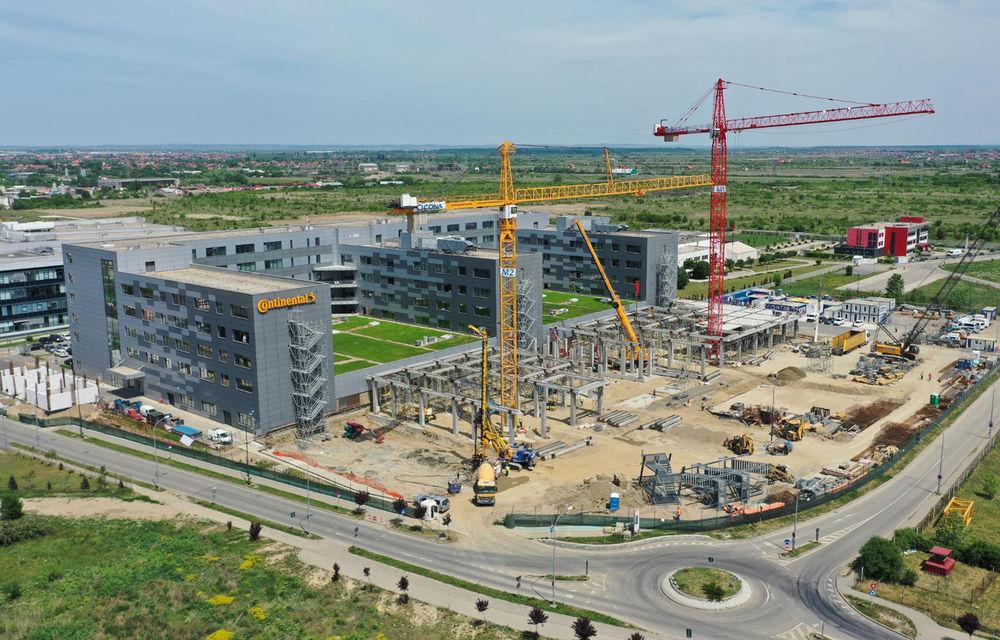 Continental va extinde centrul de cercetare și dezvoltare din Timișoara: lucrările vor fi finalizate în aprilie 2021 după o investiție de 33 de milioane de euro - Poza 1