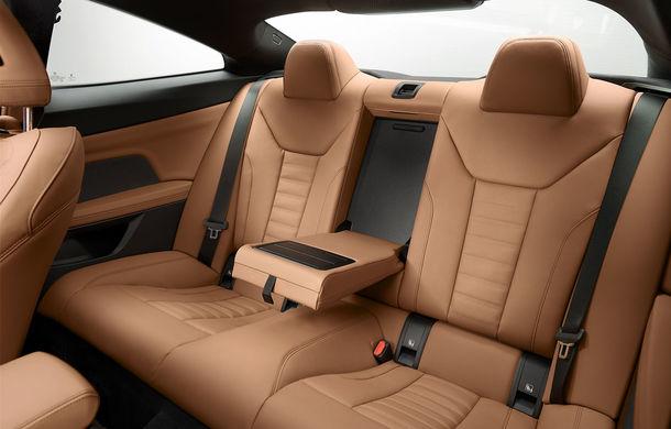 Noua generație BMW Seria 4 Coupe: design nou, tehnologii moderne și motorizări mild-hybrid cu puteri de până la 374 CP - Poza 93