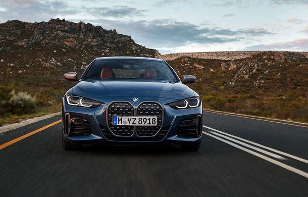 Noua generație BMW Seria 4 Coupe: design nou, tehnologii moderne și motorizări mild-hybrid cu puteri de până la 374 CP - Poza 22