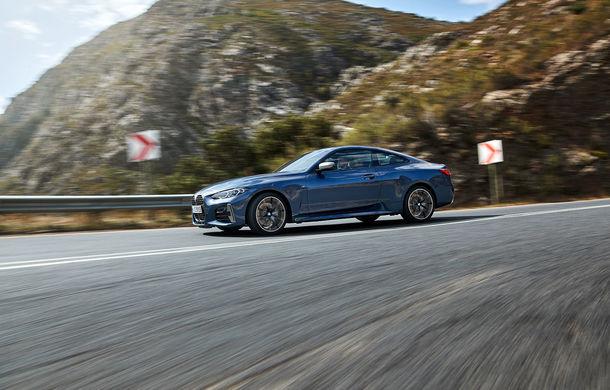 Noua generație BMW Seria 4 Coupe: design nou, tehnologii moderne și motorizări mild-hybrid cu puteri de până la 374 CP - Poza 37