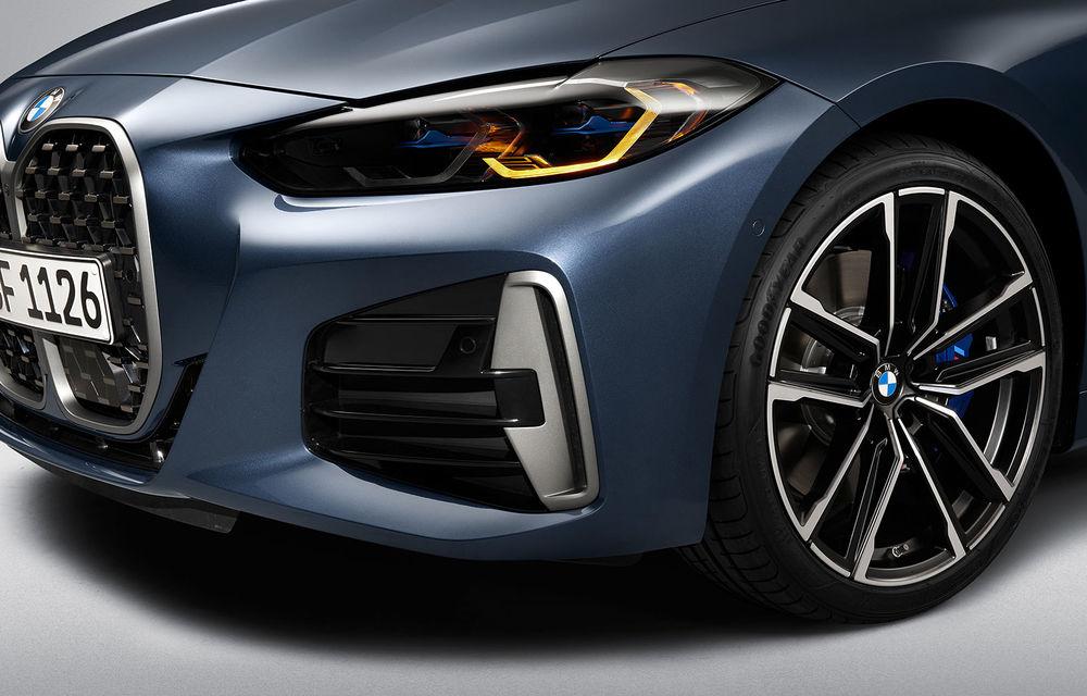Noua generație BMW Seria 4 Coupe: design nou, tehnologii moderne și motorizări mild-hybrid cu puteri de până la 374 CP - Poza 79