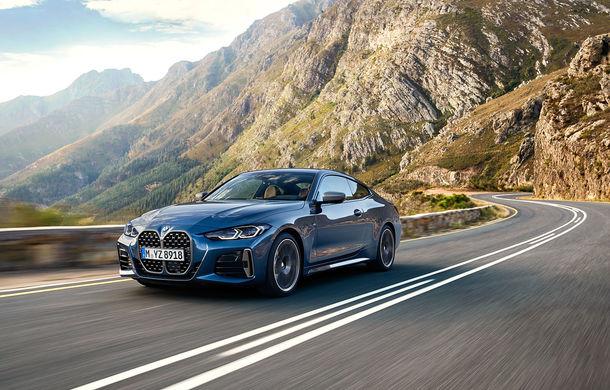 Noua generație BMW Seria 4 Coupe: design nou, tehnologii moderne și motorizări mild-hybrid cu puteri de până la 374 CP - Poza 5