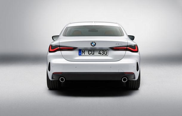 Noua generație BMW Seria 4 Coupe: design nou, tehnologii moderne și motorizări mild-hybrid cu puteri de până la 374 CP - Poza 73