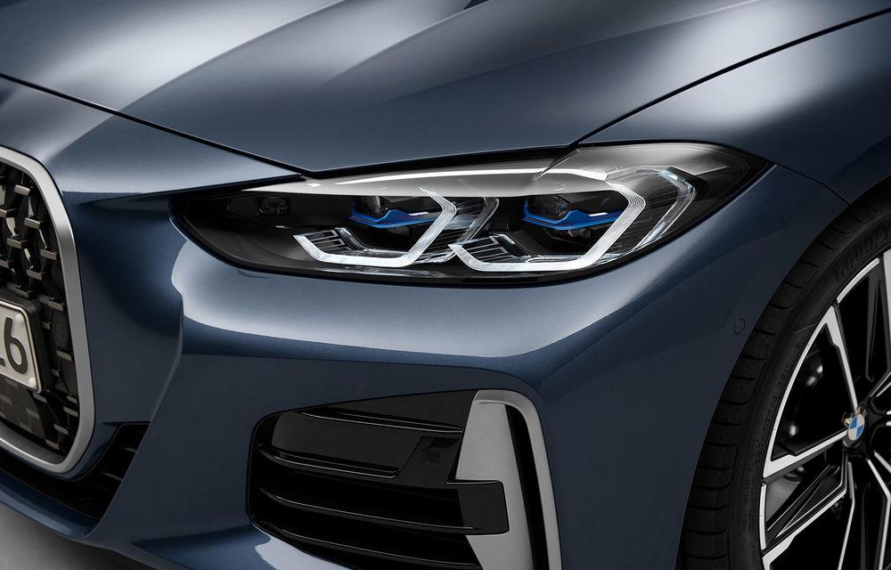 Noua generație BMW Seria 4 Coupe: design nou, tehnologii moderne și motorizări mild-hybrid cu puteri de până la 374 CP - Poza 80