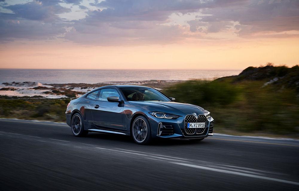Noua generație BMW Seria 4 Coupe: design nou, tehnologii moderne și motorizări mild-hybrid cu puteri de până la 374 CP - Poza 23