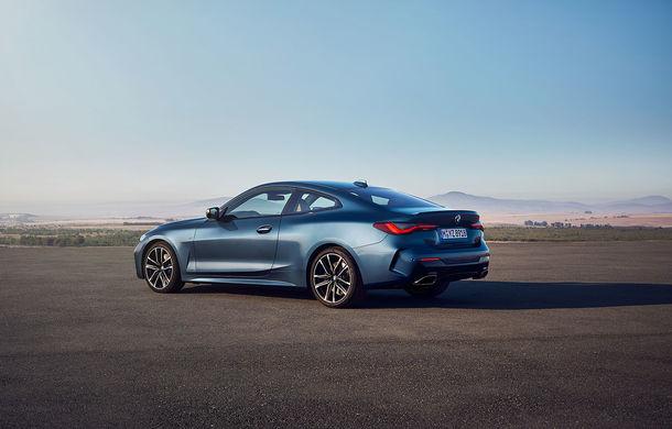 Noua generație BMW Seria 4 Coupe: design nou, tehnologii moderne și motorizări mild-hybrid cu puteri de până la 374 CP - Poza 47