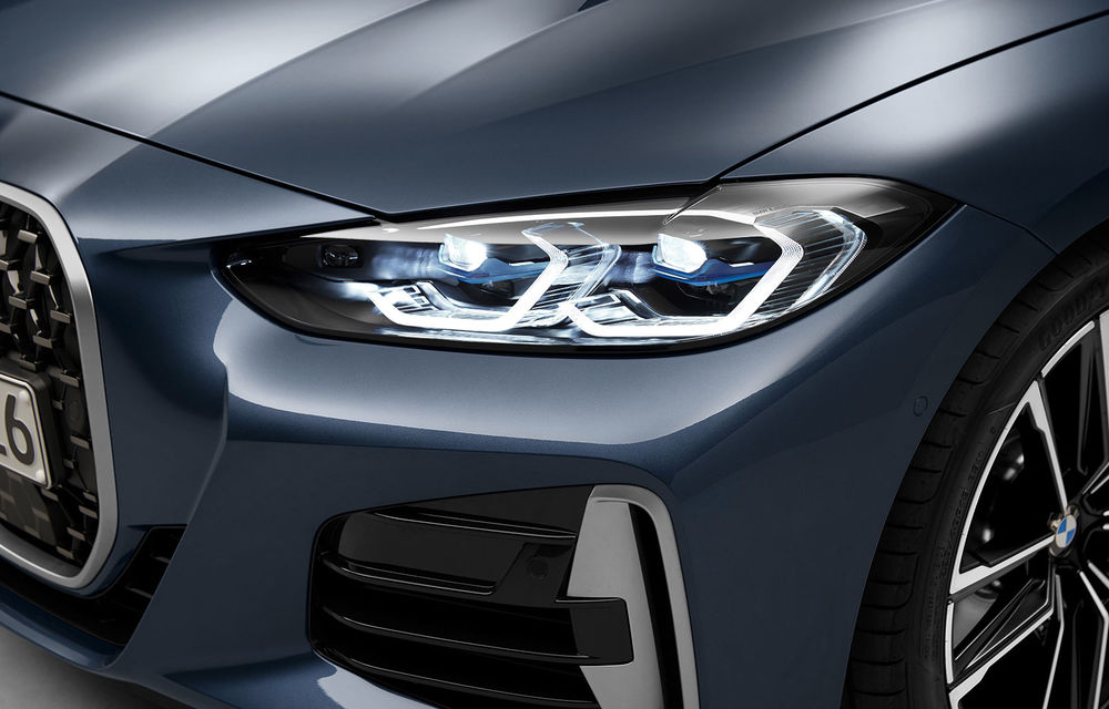 Noua generație BMW Seria 4 Coupe: design nou, tehnologii moderne și motorizări mild-hybrid cu puteri de până la 374 CP - Poza 81