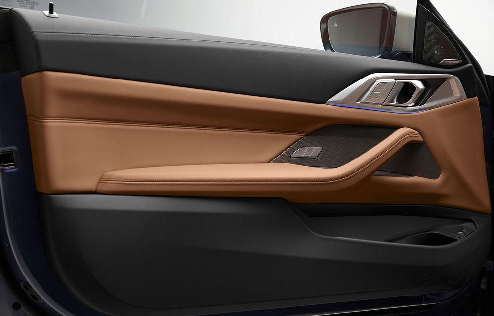Noua generație BMW Seria 4 Coupe: design nou, tehnologii moderne și motorizări mild-hybrid cu puteri de până la 374 CP - Poza 90