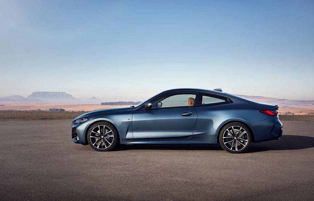 Noua generație BMW Seria 4 Coupe: design nou, tehnologii moderne și motorizări mild-hybrid cu puteri de până la 374 CP - Poza 46
