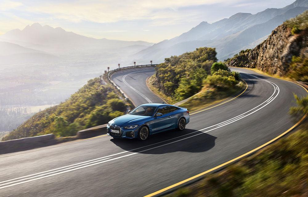 Noua generație BMW Seria 4 Coupe: design nou, tehnologii moderne și motorizări mild-hybrid cu puteri de până la 374 CP - Poza 2