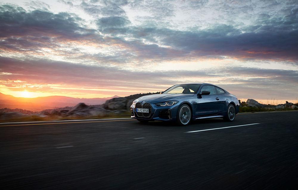 Noua generație BMW Seria 4 Coupe: design nou, tehnologii moderne și motorizări mild-hybrid cu puteri de până la 374 CP - Poza 20