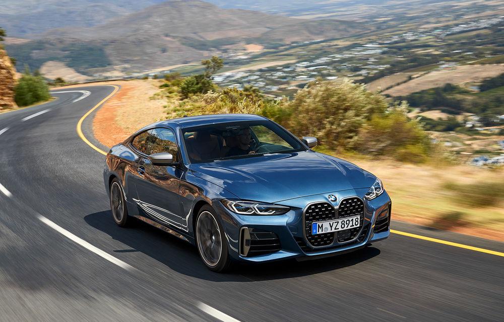 Noua generație BMW Seria 4 Coupe: design nou, tehnologii moderne și motorizări mild-hybrid cu puteri de până la 374 CP - Poza 10