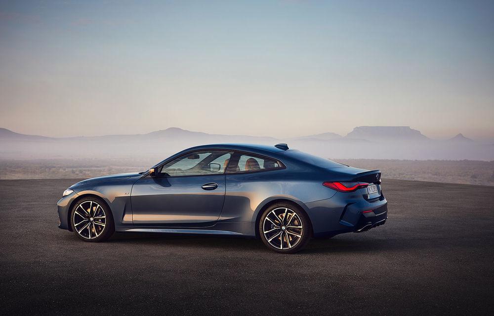 Noua generație BMW Seria 4 Coupe: design nou, tehnologii moderne și motorizări mild-hybrid cu puteri de până la 374 CP - Poza 45