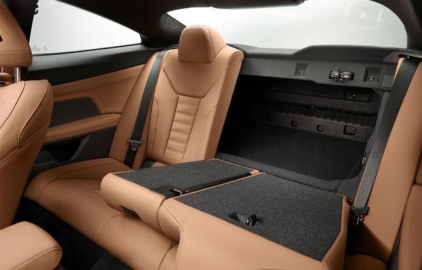 Noua generație BMW Seria 4 Coupe: design nou, tehnologii moderne și motorizări mild-hybrid cu puteri de până la 374 CP - Poza 87
