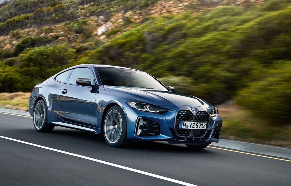 Noua generație BMW Seria 4 Coupe: design nou, tehnologii moderne și motorizări mild-hybrid cu puteri de până la 374 CP - Poza 15