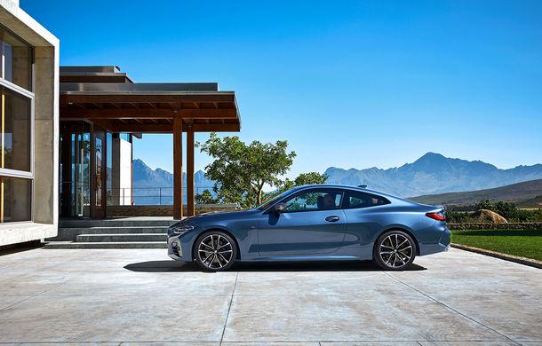 Noua generație BMW Seria 4 Coupe: design nou, tehnologii moderne și motorizări mild-hybrid cu puteri de până la 374 CP - Poza 53