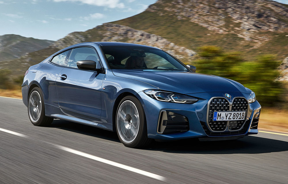 Noua generație BMW Seria 4 Coupe: design nou, tehnologii moderne și motorizări mild-hybrid cu puteri de până la 374 CP - Poza 1