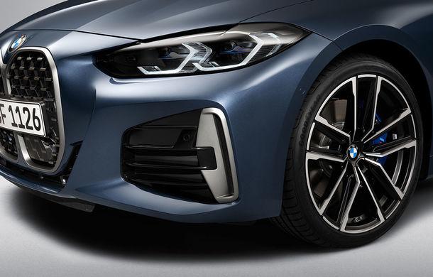 Noua generație BMW Seria 4 Coupe: design nou, tehnologii moderne și motorizări mild-hybrid cu puteri de până la 374 CP - Poza 78