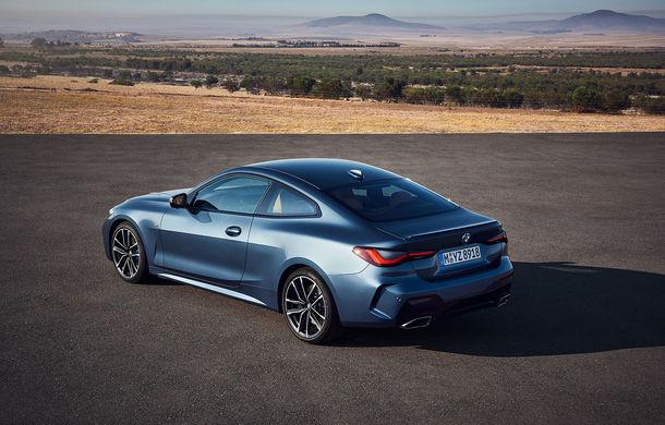 Noua generație BMW Seria 4 Coupe: design nou, tehnologii moderne și motorizări mild-hybrid cu puteri de până la 374 CP - Poza 49