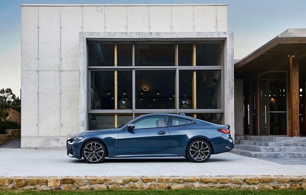 Noua generație BMW Seria 4 Coupe: design nou, tehnologii moderne și motorizări mild-hybrid cu puteri de până la 374 CP - Poza 54
