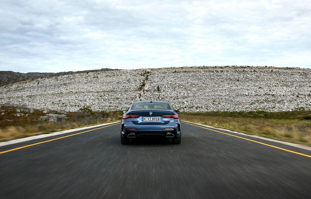 Noua generație BMW Seria 4 Coupe: design nou, tehnologii moderne și motorizări mild-hybrid cu puteri de până la 374 CP - Poza 43