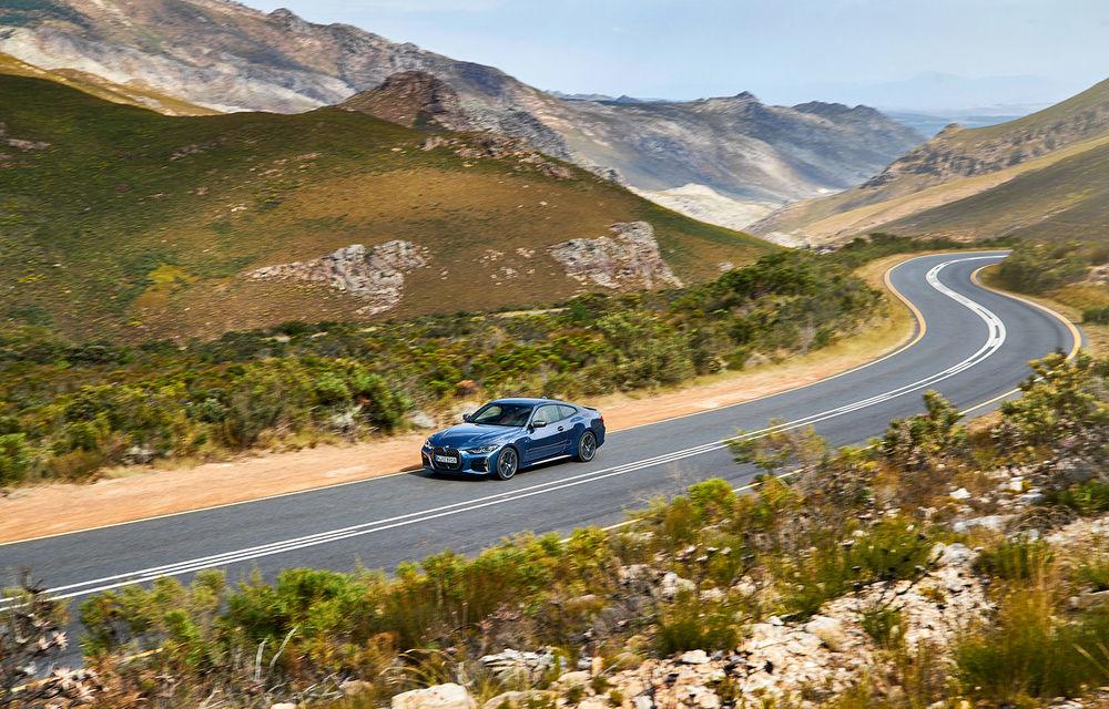 Noua generație BMW Seria 4 Coupe: design nou, tehnologii moderne și motorizări mild-hybrid cu puteri de până la 374 CP - Poza 17