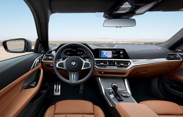 Noua generație BMW Seria 4 Coupe: design nou, tehnologii moderne și motorizări mild-hybrid cu puteri de până la 374 CP - Poza 84