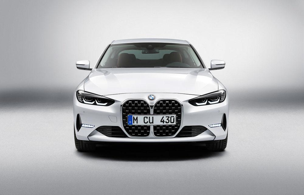 Noua generație BMW Seria 4 Coupe: design nou, tehnologii moderne și motorizări mild-hybrid cu puteri de până la 374 CP - Poza 72