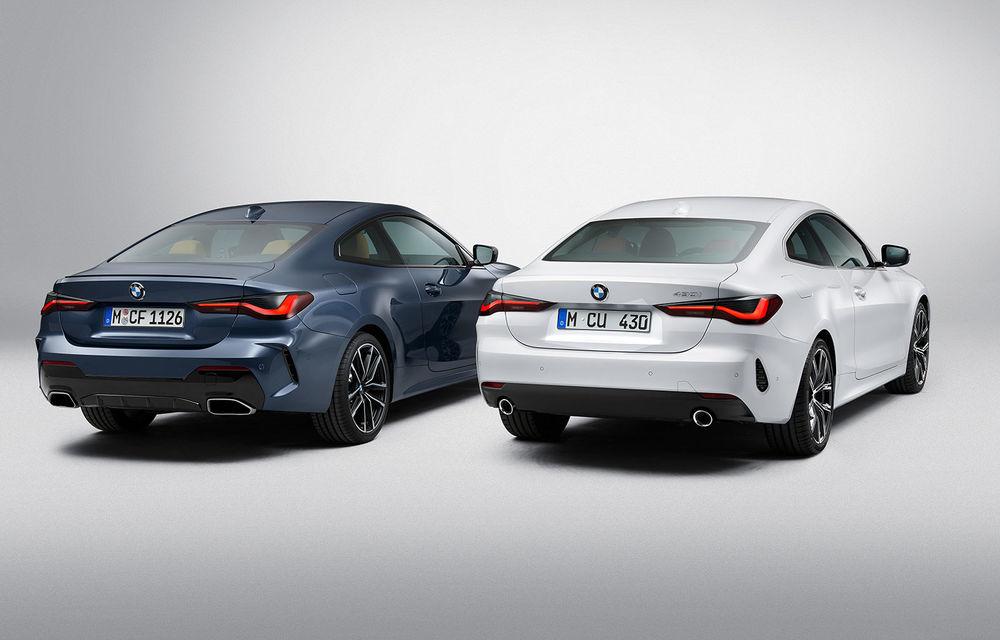 Noua generație BMW Seria 4 Coupe: design nou, tehnologii moderne și motorizări mild-hybrid cu puteri de până la 374 CP - Poza 62
