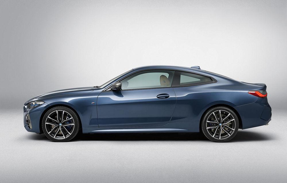 Noua generație BMW Seria 4 Coupe: design nou, tehnologii moderne și motorizări mild-hybrid cu puteri de până la 374 CP - Poza 66