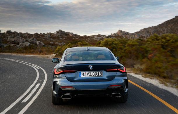 Noua generație BMW Seria 4 Coupe: design nou, tehnologii moderne și motorizări mild-hybrid cu puteri de până la 374 CP - Poza 27
