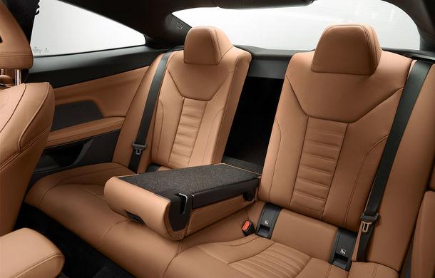 Noua generație BMW Seria 4 Coupe: design nou, tehnologii moderne și motorizări mild-hybrid cu puteri de până la 374 CP - Poza 94