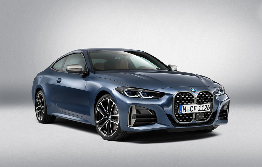 Noua generație BMW Seria 4 Coupe: design nou, tehnologii moderne și motorizări mild-hybrid cu puteri de până la 374 CP - Poza 65