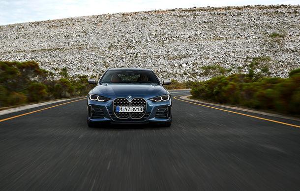 Noua generație BMW Seria 4 Coupe: design nou, tehnologii moderne și motorizări mild-hybrid cu puteri de până la 374 CP - Poza 42